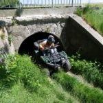 passage sous un pont