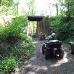 pont randonnée quad normandie